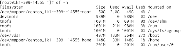 LVM論理ボリュームのサイズ変更
