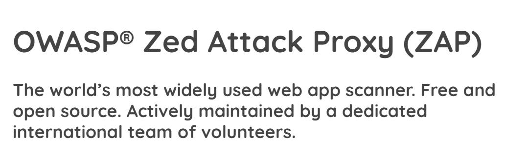OWASP ZAPを使って脆弱性検査をしてみる